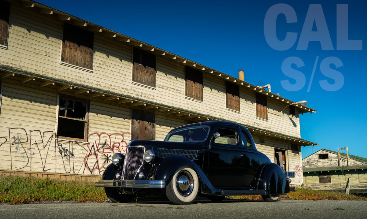 1936 Ford at Ford Ord
