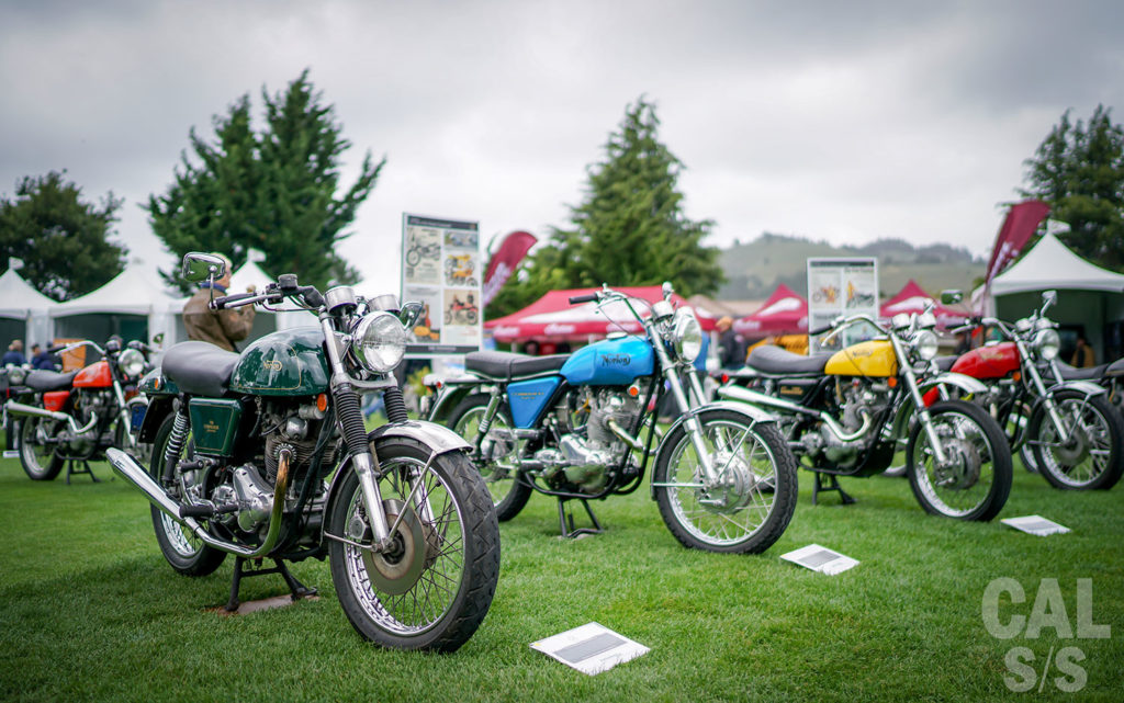 Nortons at 2017 Quail