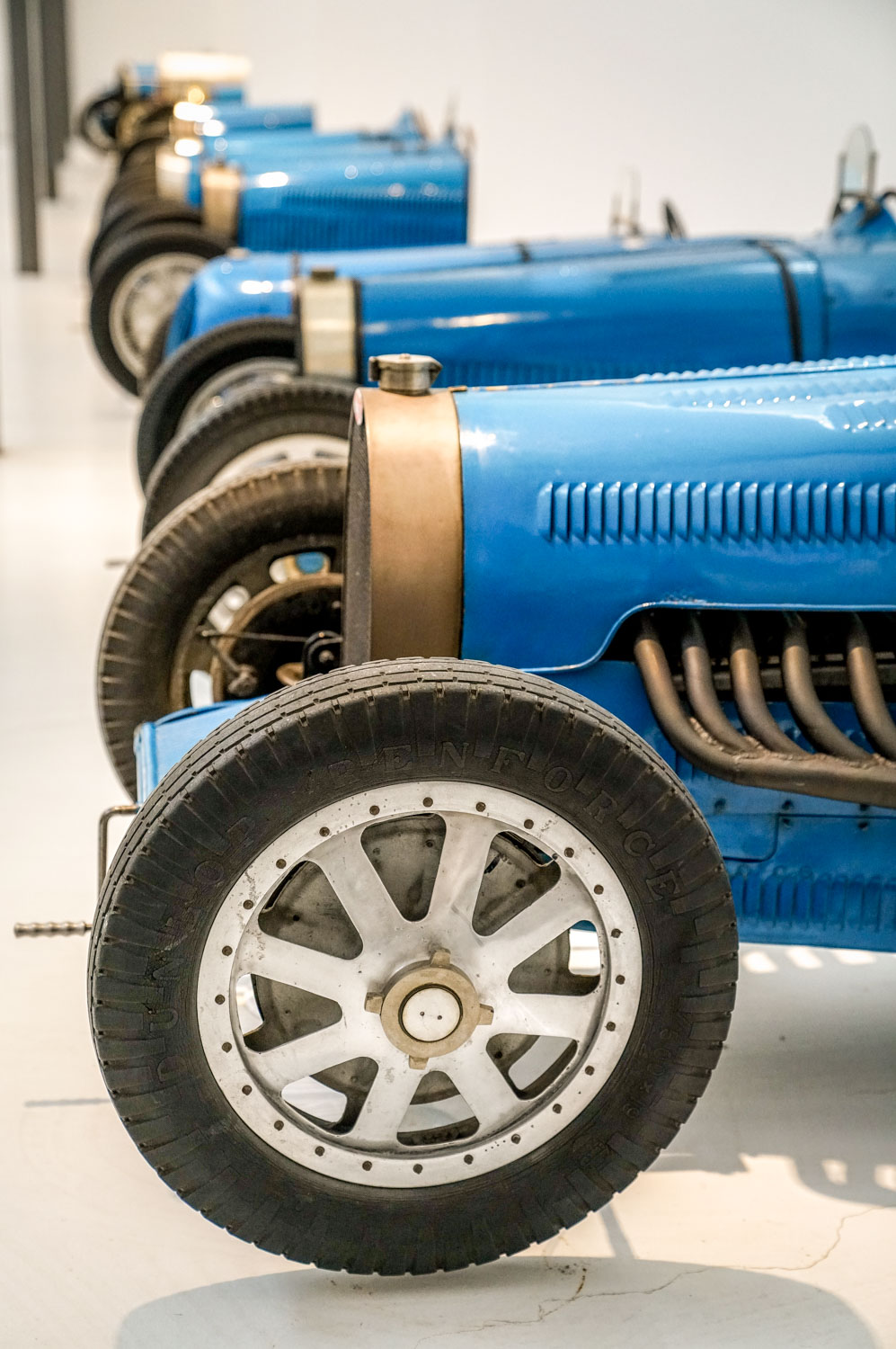 Sea of Bugatti Blue