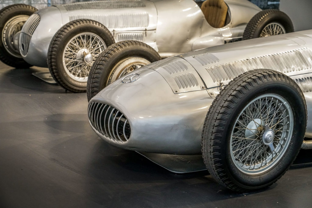 Mercedes-Benz W154 and W125 Silver Arrows