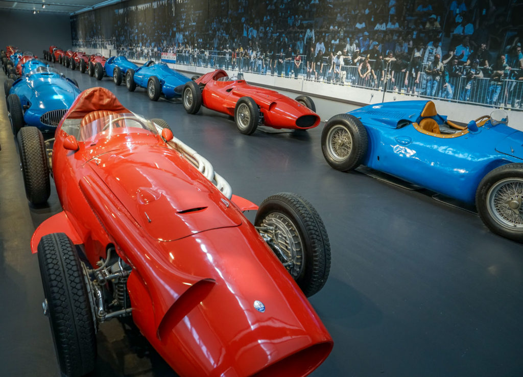 Maserati, Ferrari, Alfa Romeo Open Wheel Race Cars