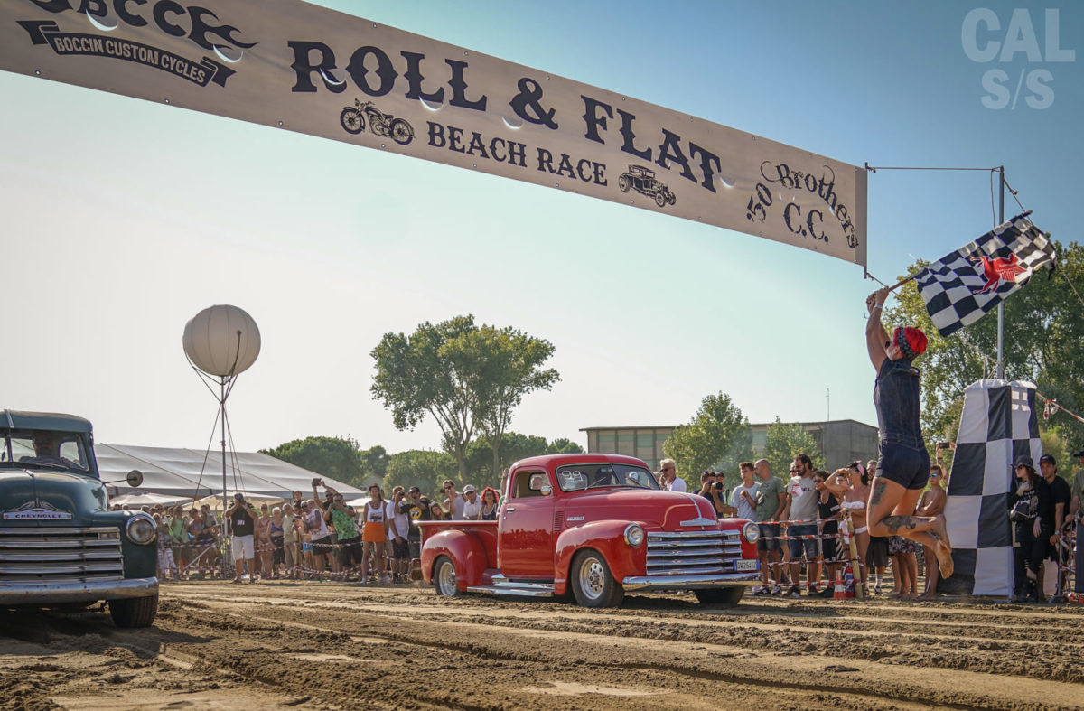 Roll and Flat Beach Race
