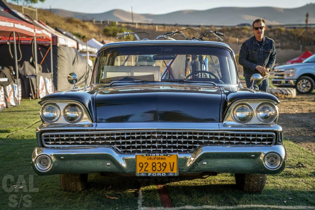 Bryan Thompson and his 59 Ranchero